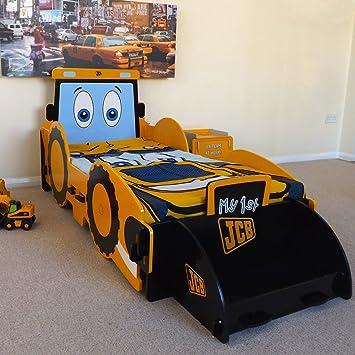 Kinderbett junge traktor  Click Jungen Holz Traktor Bett Junior Bett: Amazon.de: Küche ...