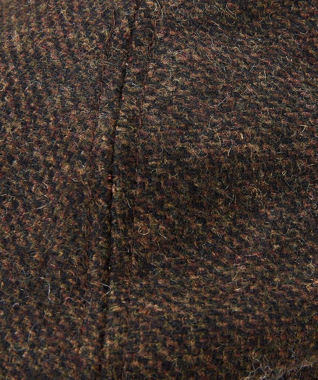 Joe Browns Mens Tweed Flat Cap Vintage Brown One Size