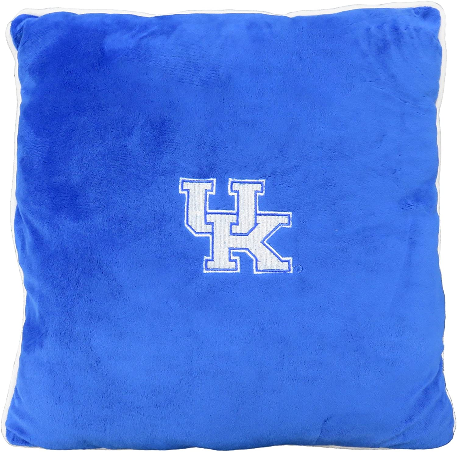 Pets First Collegiate Pet Accessories, Dog Pillow, Kentucky Wildcats, 16 x 16 x 3 inches