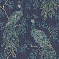 Arthouse 292101 292901 Lazzaro Wallpaper, Blauw, 53 cm x 10,05 m