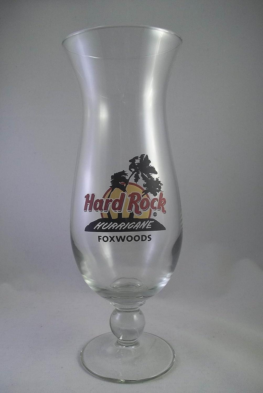 Hard Rock Hurricane Foxwoods Glass Hard Rock Cafe