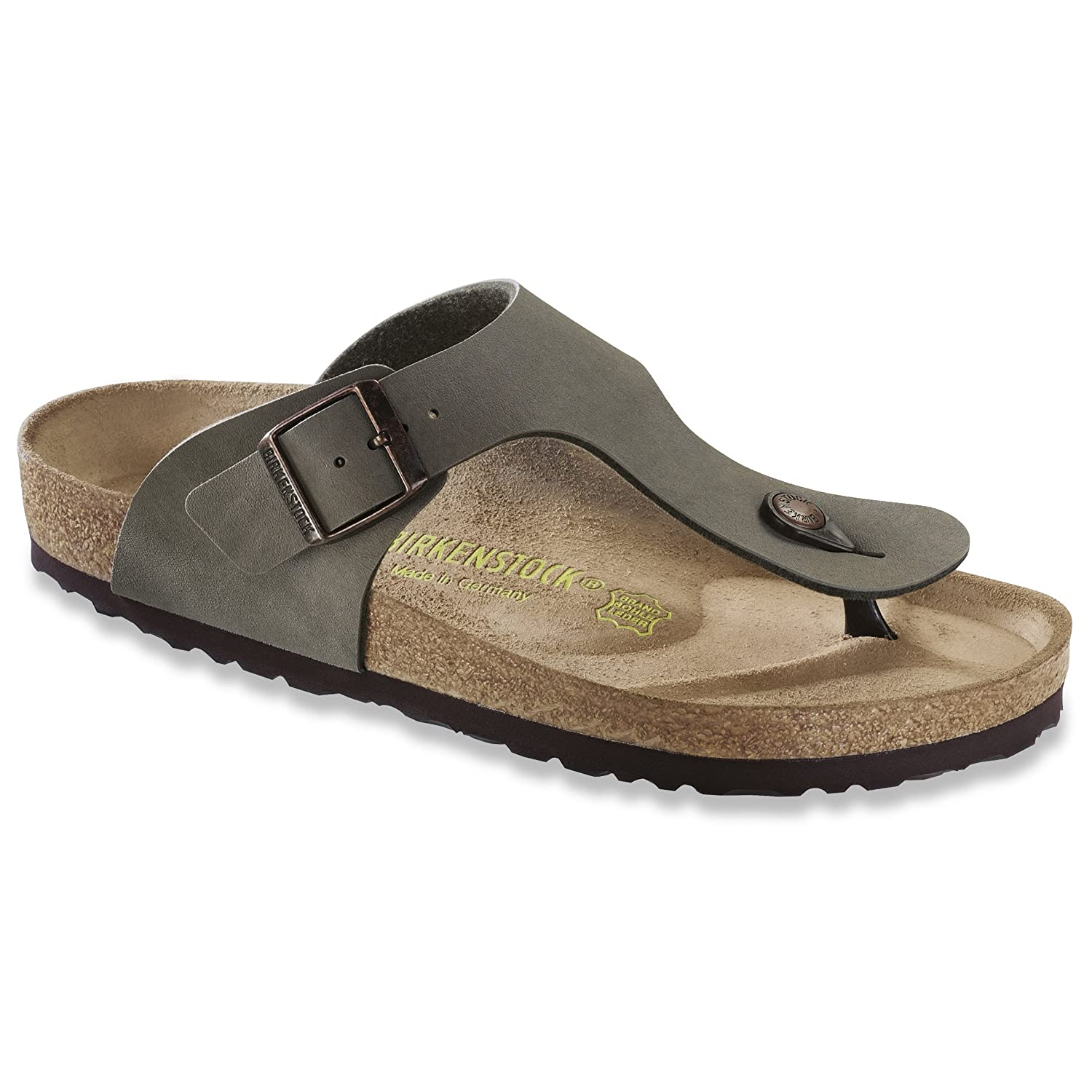 417ef3f4f77b Birkenstock Ramses Mens Toe Post Sandals (10 UK) (Stone)  Buy Online at Low  Prices in India - Amazon.in