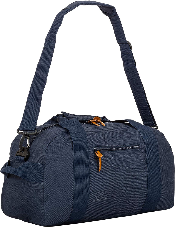 Highlander Unisex-Adult Cargo Bag 30 Liter Robuste Canvas-Tasche Denimblau ideal f/ür die Reise oder als Sporttasche 30L