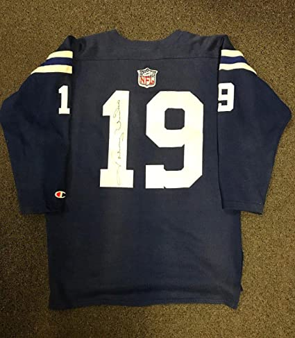 7e13a14b6a4 Signed Johnny Unitas Jersey - Loa - JSA Certified - Autographed NFL Jerseys