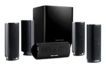 harman kardon home theatre. harman kardon hkts 16bq 5.1 channel home theater speaker package (black) theatre .