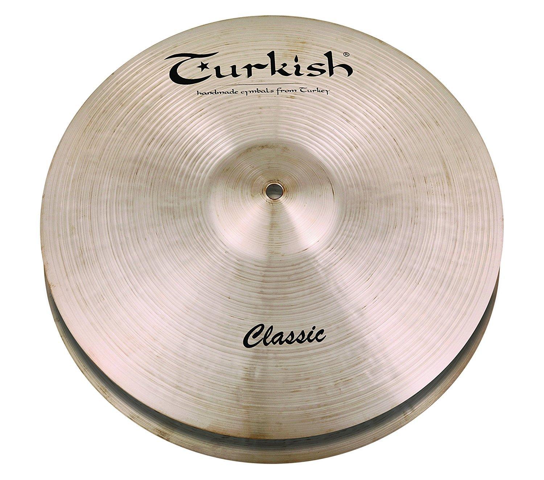 Classic  13-inch Hi-Hat  Turkish C-HH13 Series B0756JCNR4 Heavy Cymbals * Classic