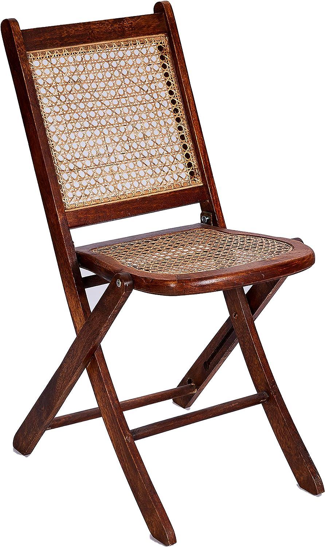 Better & Best Silla Plegable Rejilla Marron, Medidas 37,5x53x78 cm ...