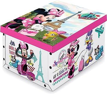 Disney Minnie Mouse - Caja de almacenamiento de 40 x 50 x 25 cm ...