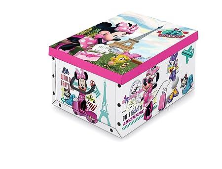 Royaume-Uni disponibilité e6b73 d3b71 Disney - Boîte de rangement Minnie Mouse pour enfants - 40 ...