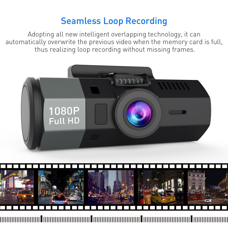 Crosstour Mini AutoKamera 1080P Full HD Dash Cam 12MP: Amazon.de ...