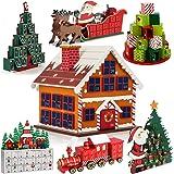 Adventskalender zum befüllen Weihnachtshaus ✔ Modellauswahl ✔ DIY ✔ Holz ✔ befüllbar & wiederverwendbar ✔ Holzadventskalender Weihnachtsdeko Holzboxen Deko Weihnachten Kalender