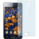 mumbi Panzerfolie für Samsung Galaxy S2 Glasfolie Hartglas 9H