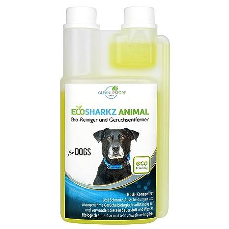 Ecosharkz neutralisant de mauvaises odeurs pour chiens - désodorisant naturel - concentré à haut débit pour