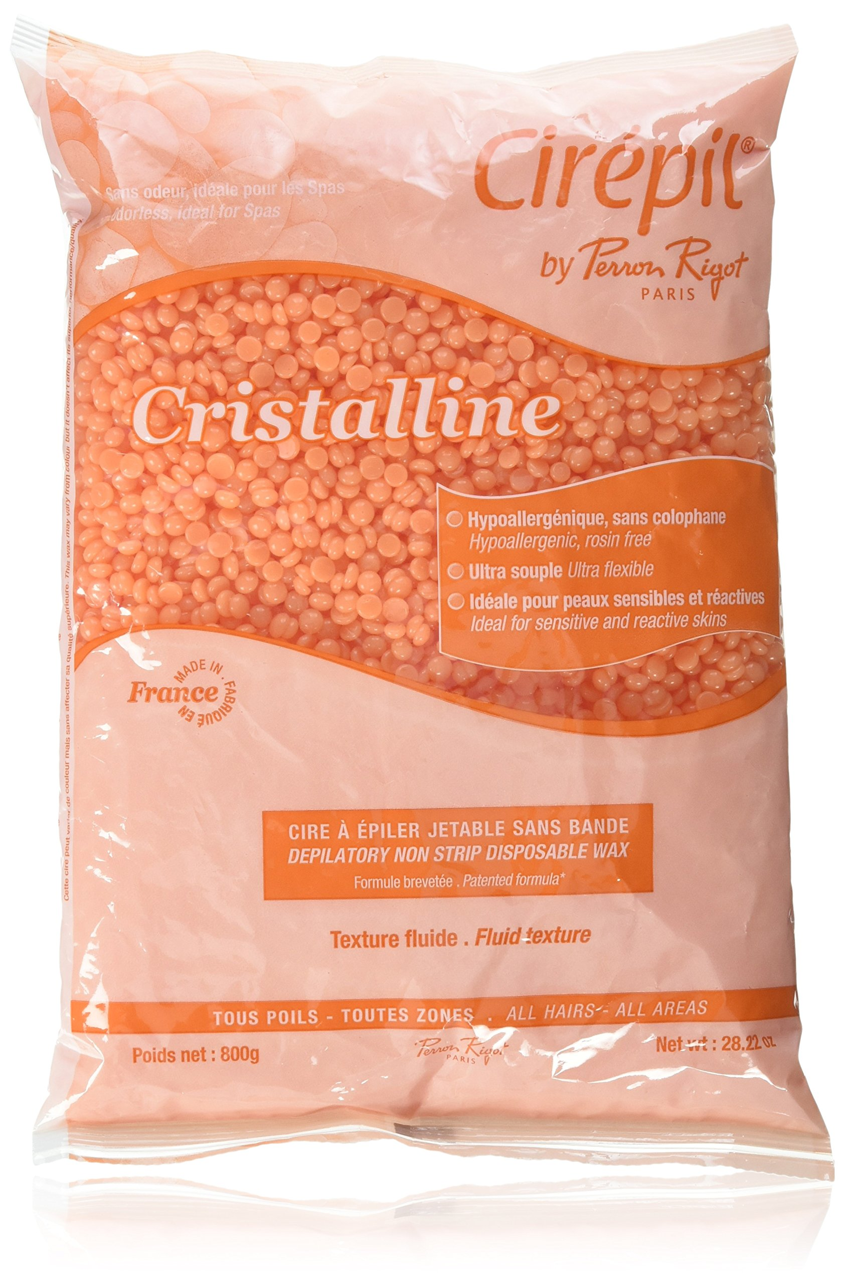 Cirepil Cristalline Wax Refill Bag, 800 Gram