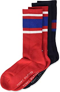 e8d24bfbf Tommy Hilfiger Girl's Calf Socks, Pack of 2: Amazon.co.uk: Clothing