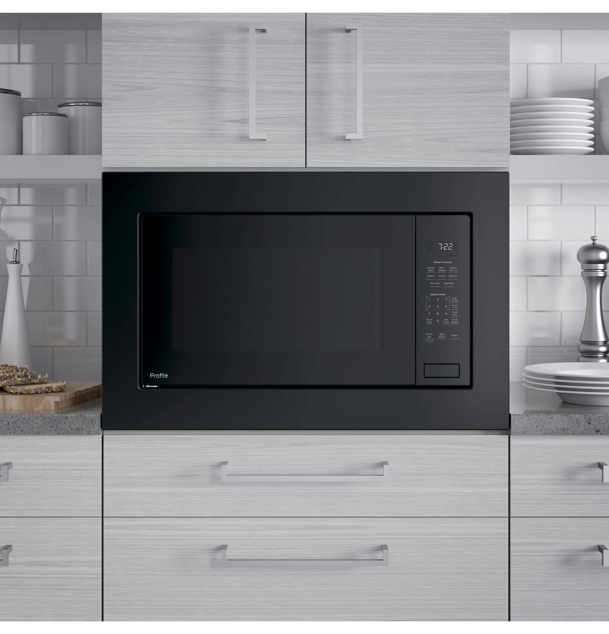 GE PEB7227DLBB Microwave Oven by GE (Image #5)