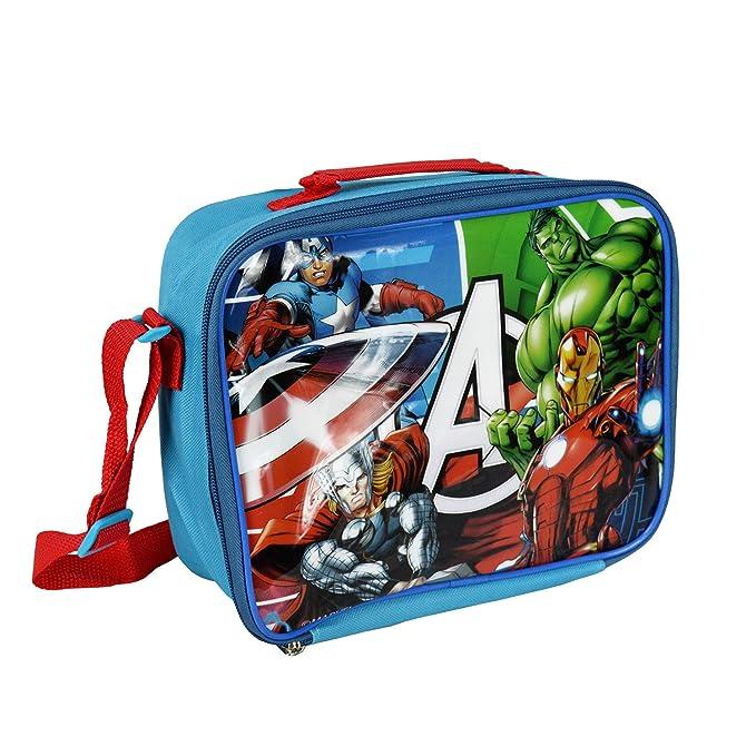 best service fc451 dc12e MV92271 Borsa a tracolla porta merenda termica The Avengers 26 x 20 x 9 cm.  MWS