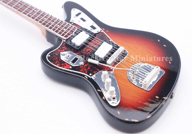RGM85 Kurt Cobain NIRVANA Guitarra en miñatura