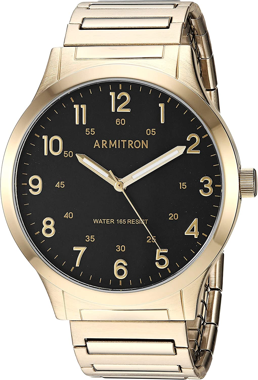 Armitron Men s 20 5310BKGP Easy-Read Expansion Band Watch