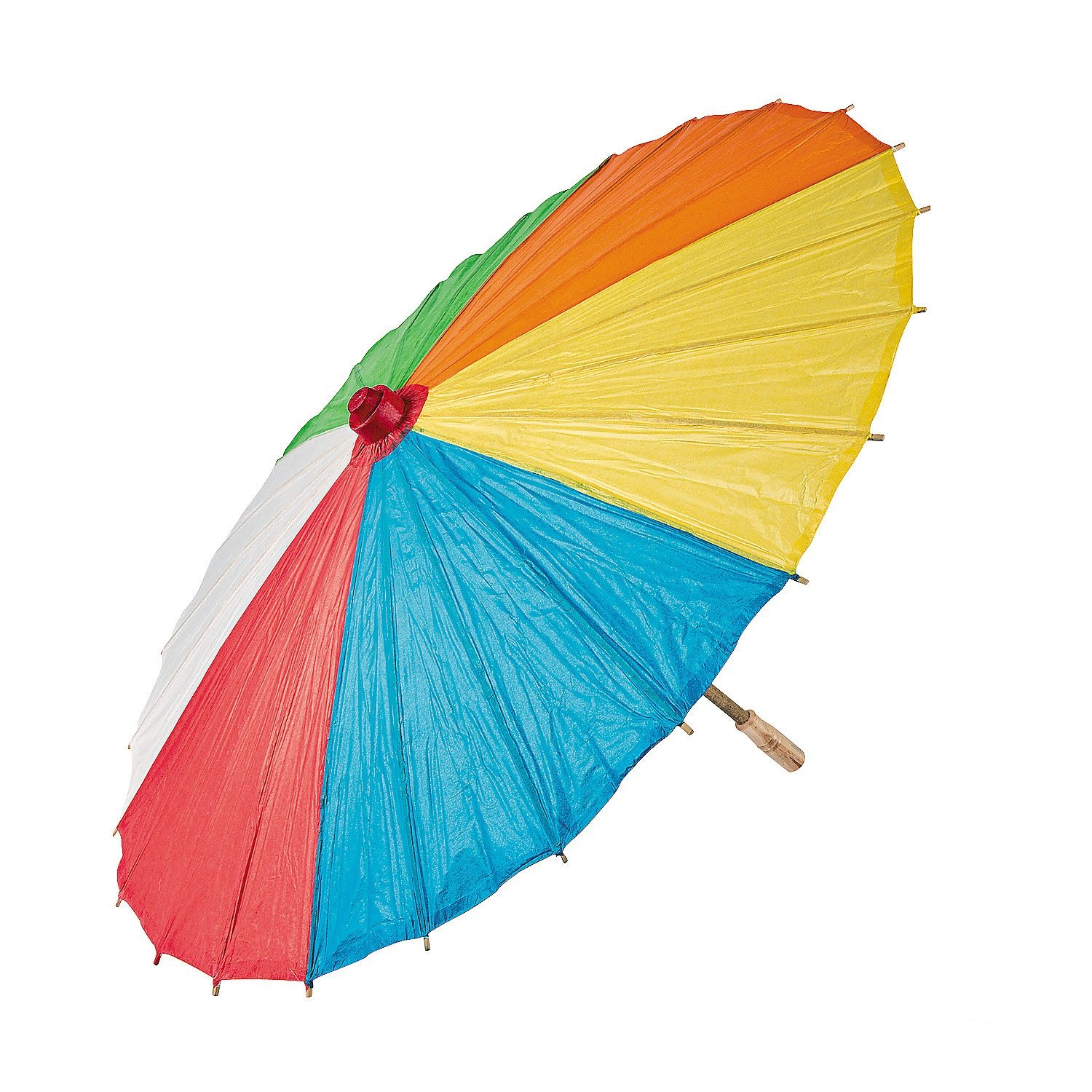 Paper Beach Ball Print Parasol. - 22