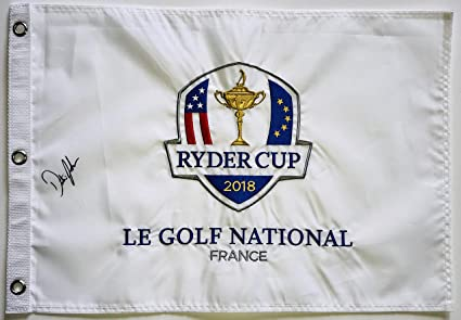 Wholesale Lots 2019 Us Open Autograph Signed Field Flag Dustin Johnson Spieth Beckett Bas Coa Golf-pga