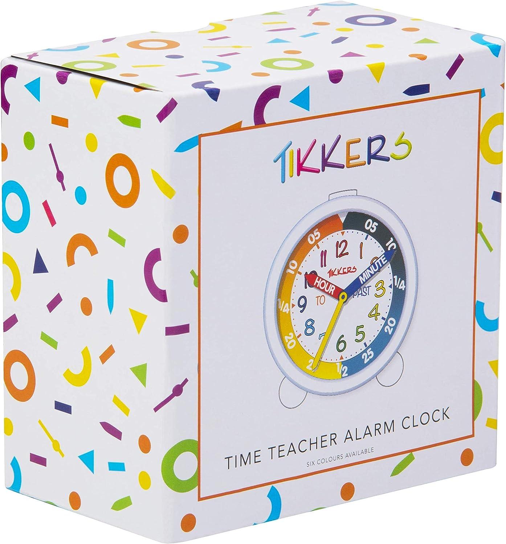 Rose Clair et Violet Tikkers TKAC002 R/éveil avec Cadran Blanc