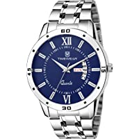 TIMEWEAR Day Date Functioning Chain Watch for Men