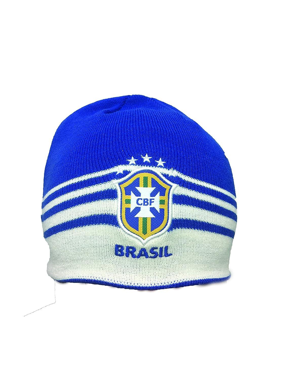 Amazon.com  Brazil Beanie. Knit Cap  Clothing 75aca25a3c5