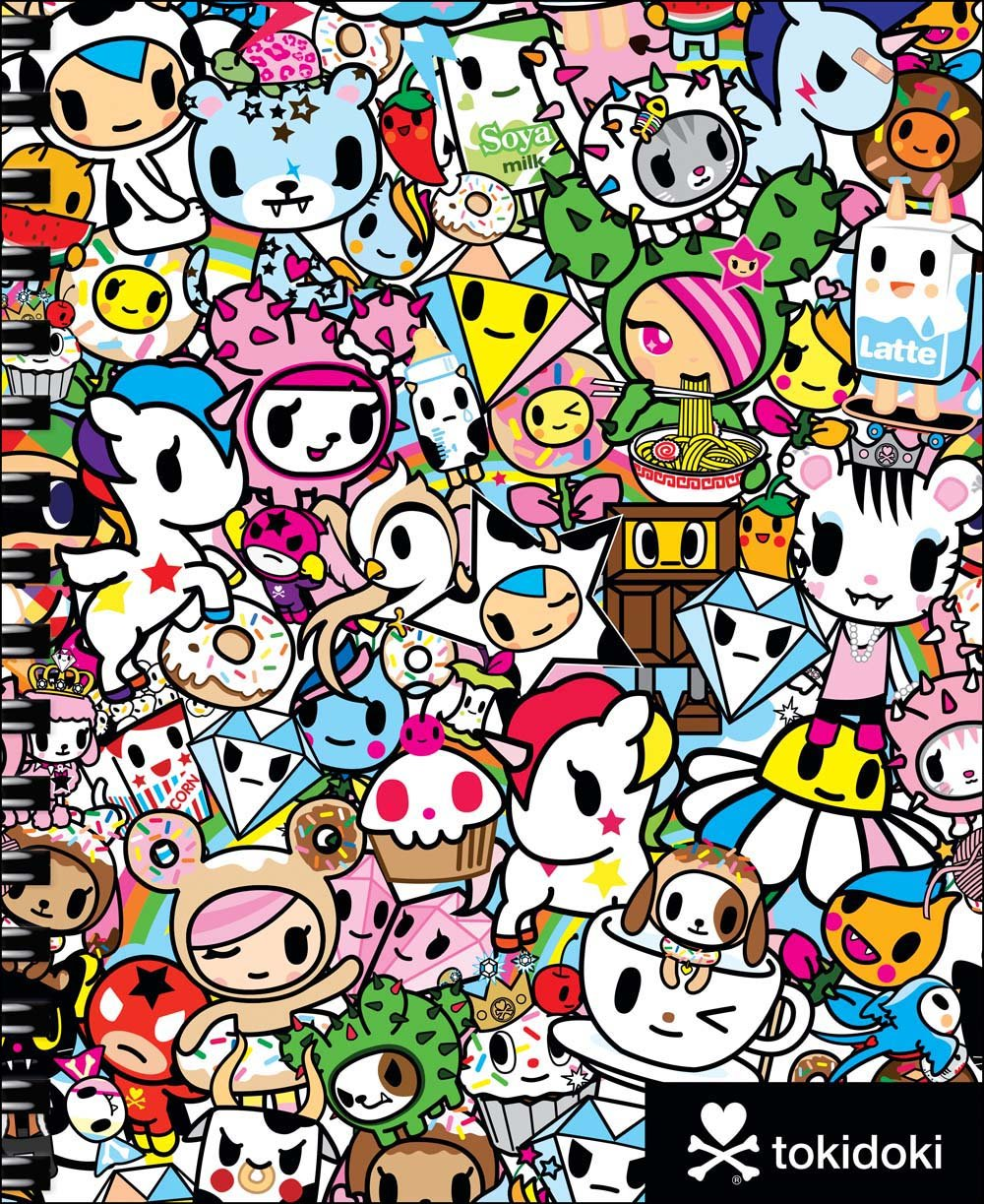 amazon com tokidoki sketchbook with spiral 9781454921899