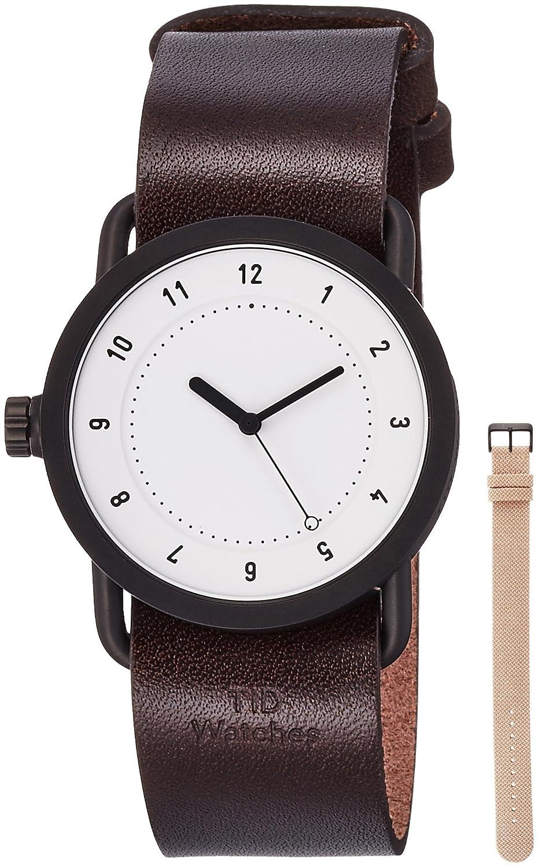 [ティッドウォッチ]TID Watches デザイナーズウォッチ ベルトセット スターターキット TID01-36WH/W BELT SET 【正規輸入品】 B01N13XJG8