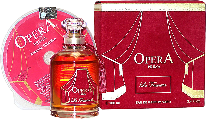 Opera prima la Traviata edp vapo 100 ml, 1er Pack (1 x 100 ml): Amazon.es: Belleza