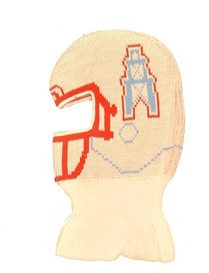 Amazon.com   Game Face Houston Oilers Helmet Ski Mask Beanie Hat ... 5fe6d164ded
