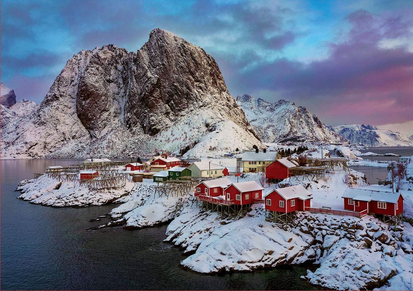 Educa Puzzle 1.500 piezas, Islas Lofoten, Noruega, multicolor ...