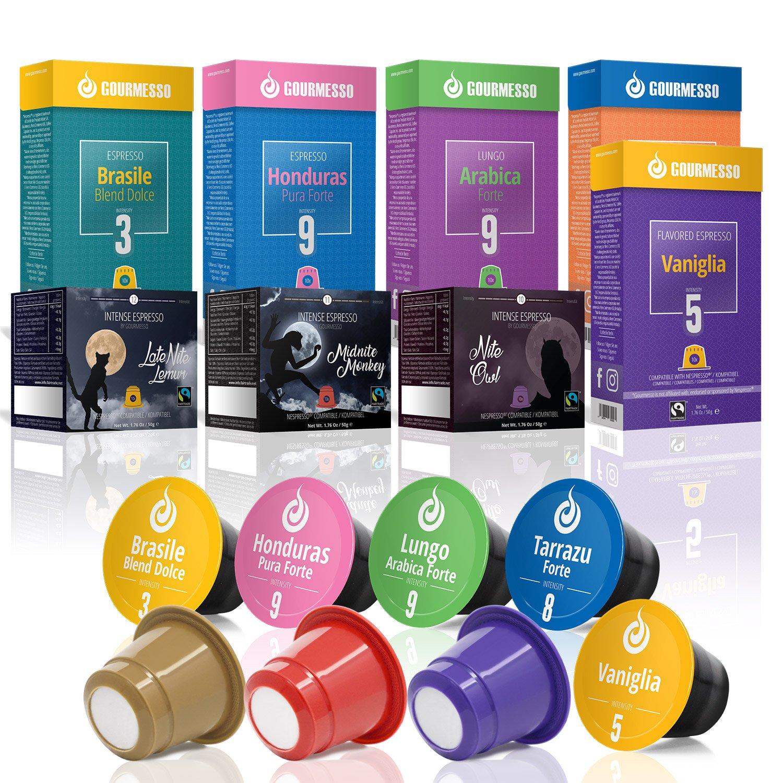 Gourmesso Bestseller Box - Cápsulas de café compatibles con ...
