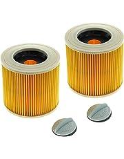2x CleanMonster Patronenfilter kompatibel zu Kärcher 6.414-552.0 / 64145520