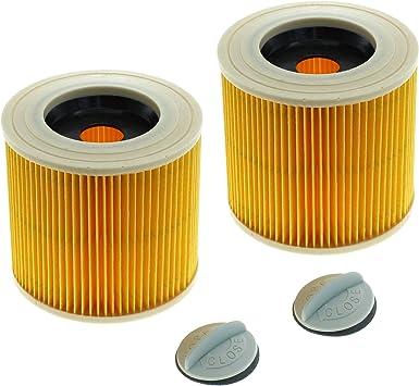 2 x cleanmon ster filtro compatible con Kärcher 6.414 – 552.0 ...