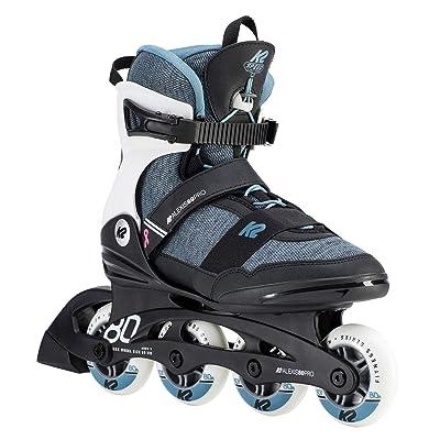 K2 Skate Womens Alexis 80 Pro Inline Skates, Steel Blue : Sports & Outdoors