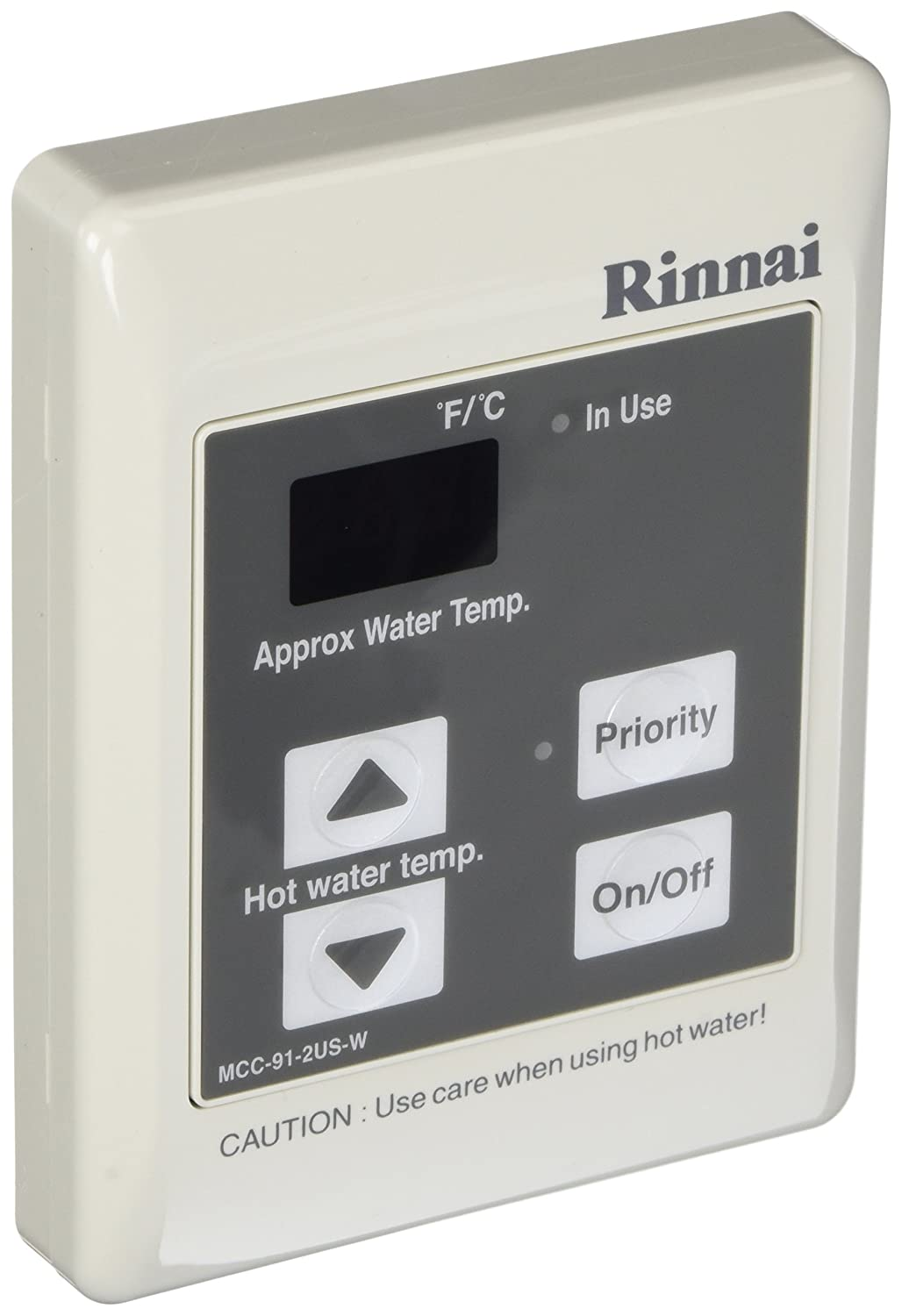 RINNAI MCC-91-2W COMMERCIAL CONTROLLER FOR LS SERIES >180 DEG F (OLD NUMBER MCC-91-1W) MC266620