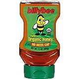 Billy Bee Organic Upside Down Liquid Honey, 13 oz