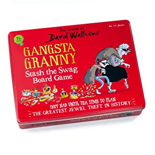 The World of David Walliams 6865 - Gioco da Tavolo The Gangsta Granny, Colore: Rosso