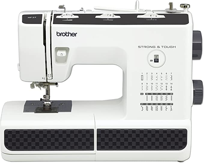 Brother HF27 - Máquina de Coser Acero Inoxidable, 44 x 20 x 33 cm ...