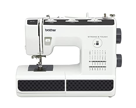 Brother HF27 - Máquina de Coser Acero Inoxidable, 44 x 20 x 33 cm,