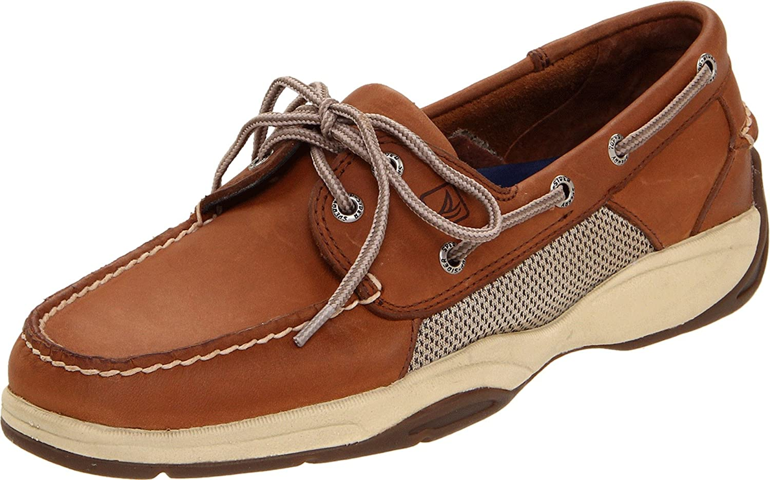 NEW Mens SPERRY TOP SIDER 2-EYE 85th ANNIVERSARY Navy LEATHER Boat Shoes IN BOX
