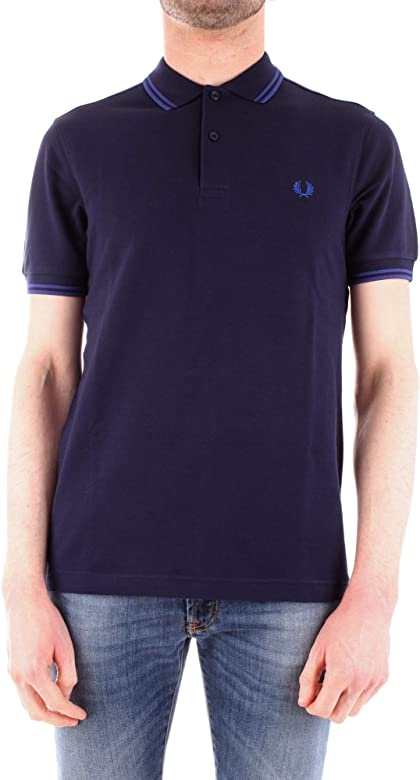 Fred Perry M3600 Polo Hombre Azul/Real XL: Amazon.es: Ropa y ...