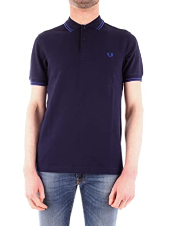 Fred Perry Camisa de Polo de los Hombres Twin Tipped Camiseta ...