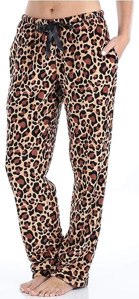 Amazon.com: PajamaMania Pantalones de pijamas para mujer ...