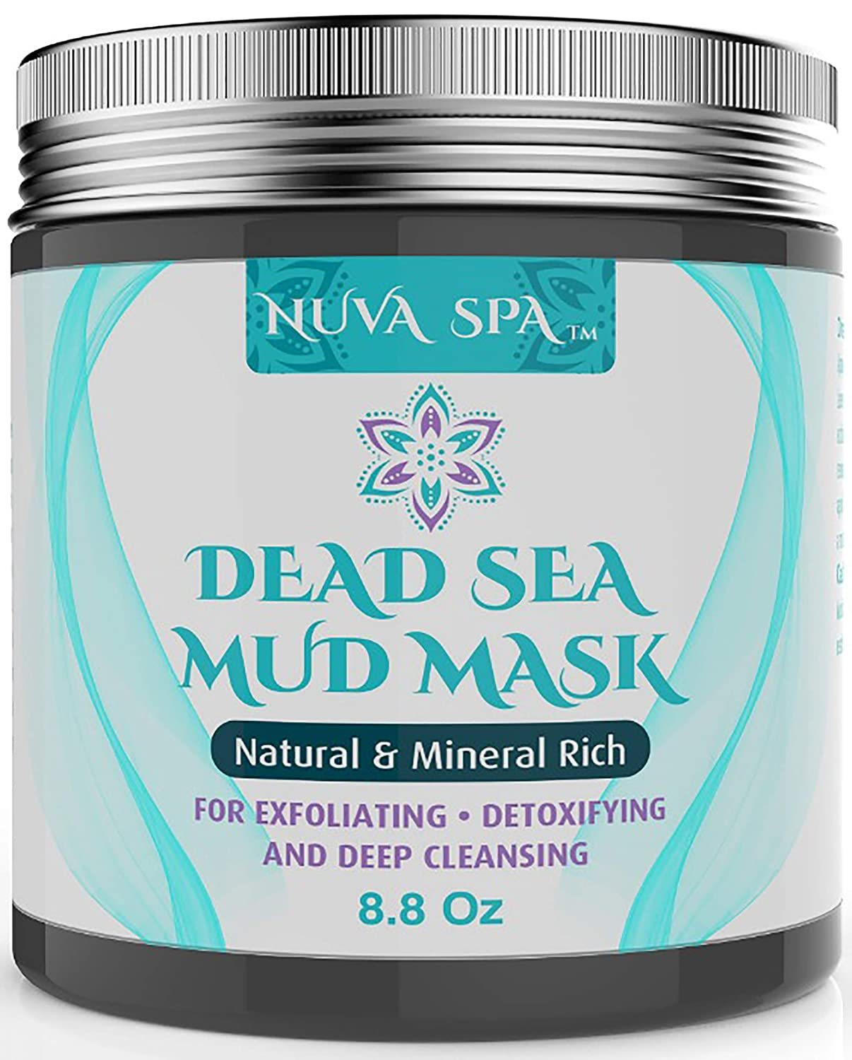 Dead Sea Mud Mask for Face, Acne, Oily Skin Blackheads – Best Facial Pore Minimizer, Reducer Pores Cleanser Treatment – Natural for Younger Looking Skin