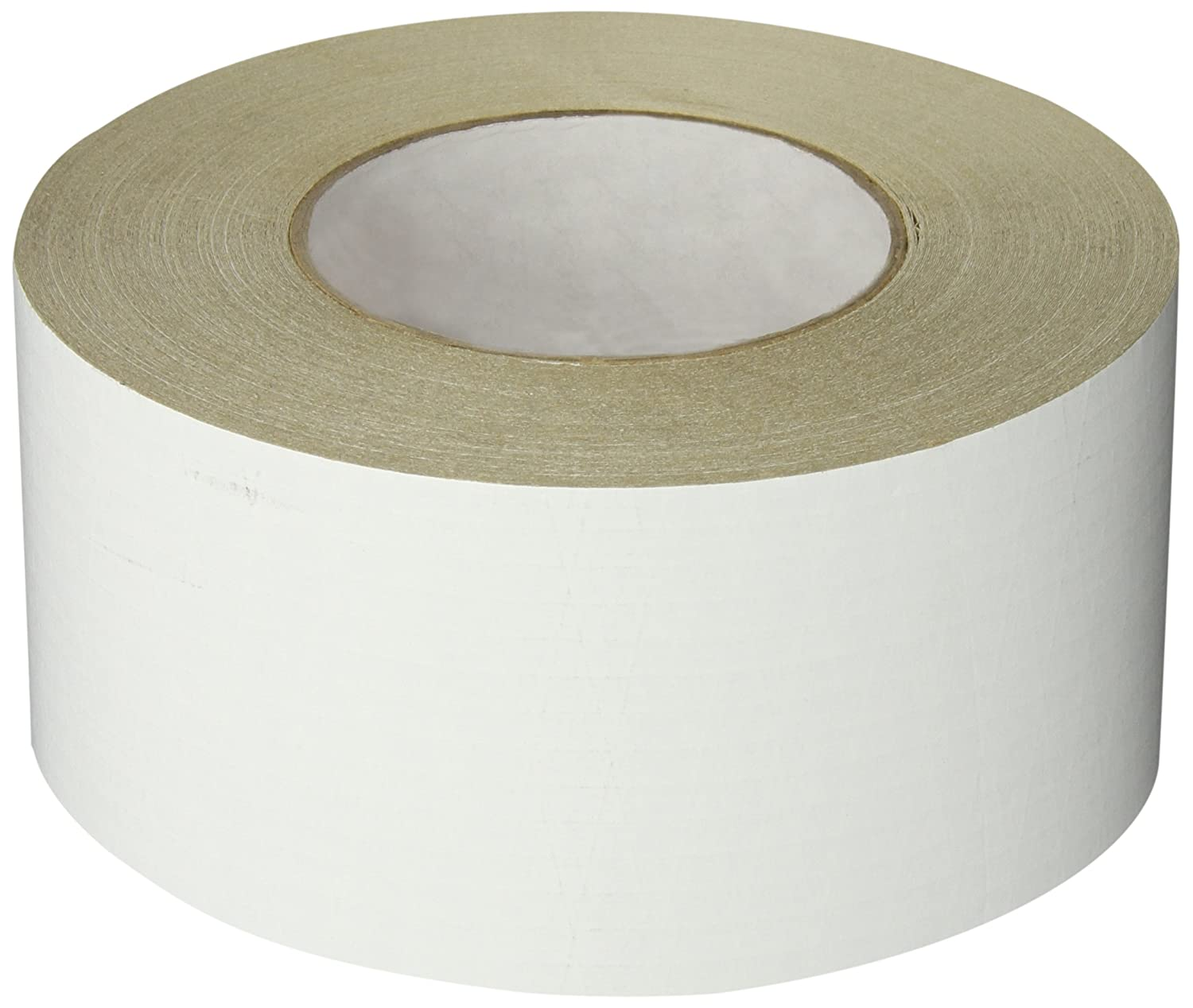 Nashua ASJ Paper/Tri-Directional Fiberglass/Foil All-Service Insulation Jacketing Tape, 50 yds Length x 72mm Width, White