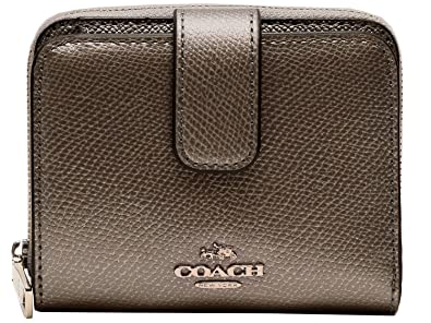 f513d014b3d2 Amazon   [コーチ] COACH 財布 (二つ折り財布) F52692 ピューター SV/PR ...
