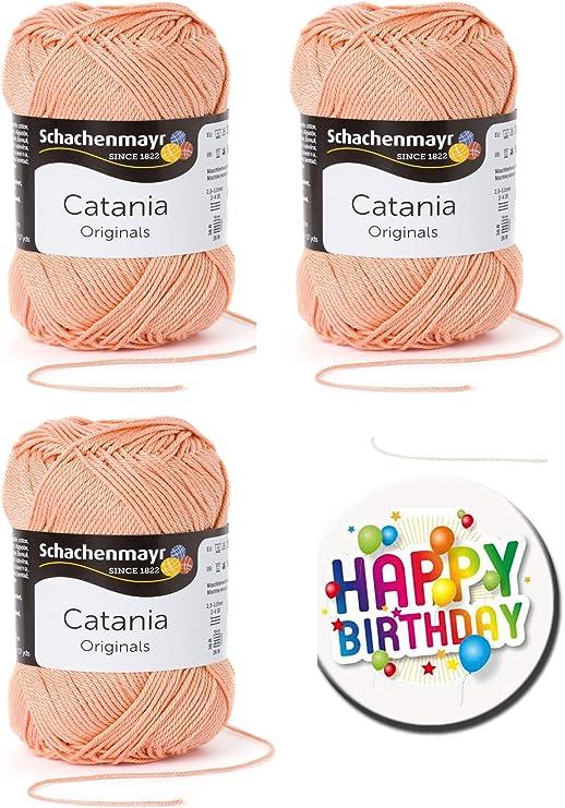 Ovillos de algodón Catania Schachenmayr, lotes de 3, 5 o 10 ...